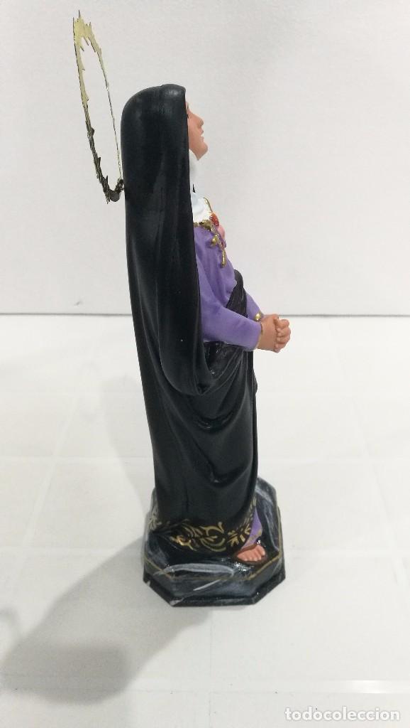 Arte: Escultura Virgen Dolorosa 30 cm - Foto 3 - 104978019