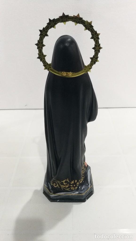 Arte: Escultura Virgen Dolorosa 30 cm - Foto 4 - 104978019