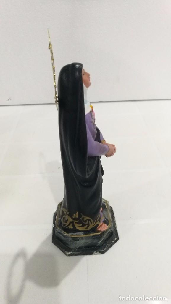 Arte: Escultura Virgen Dolorosa 20 cm - Foto 3 - 104978103