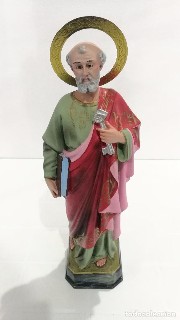ESCULTURA SAN PEDRO 40 CM (Arte - Arte Religioso - Escultura)