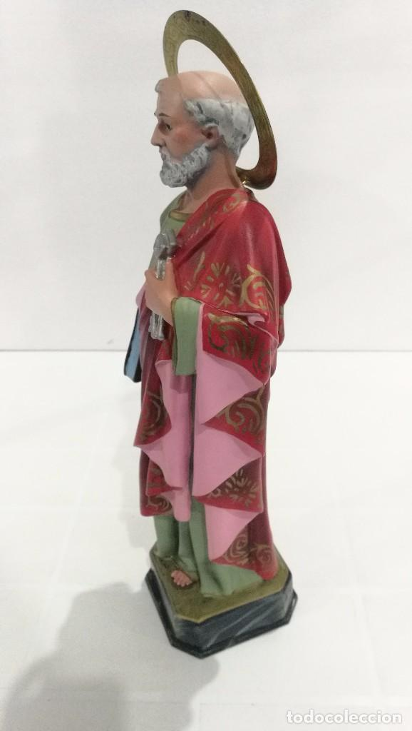 Arte: Escultura San Pedro 40 cm - Foto 2 - 104978547
