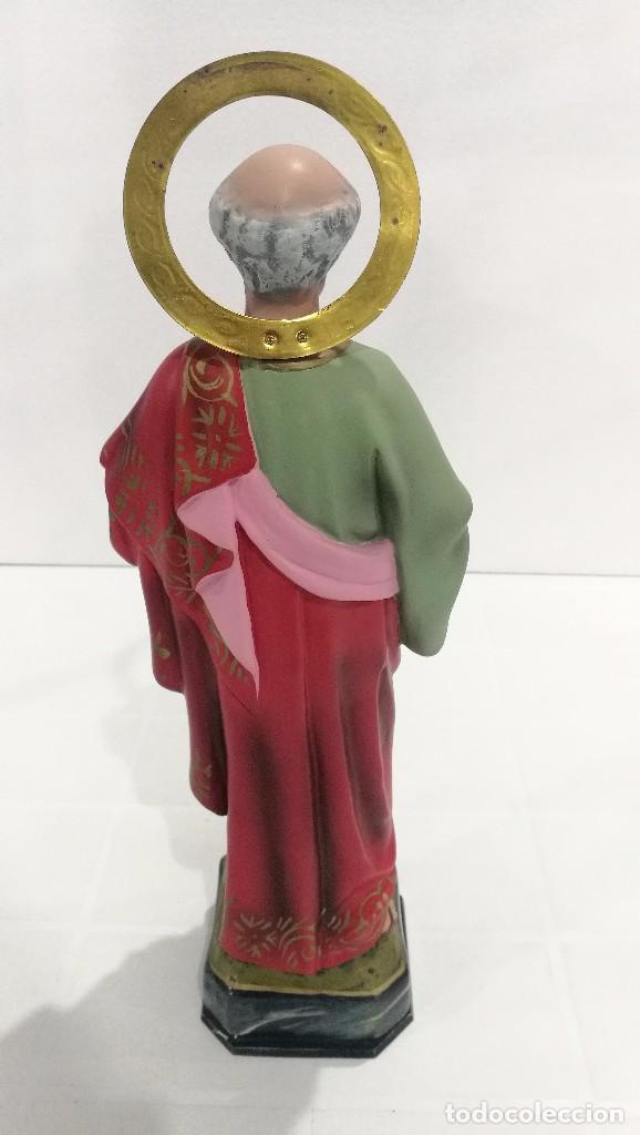 Arte: Escultura San Pedro 40 cm - Foto 4 - 104978547