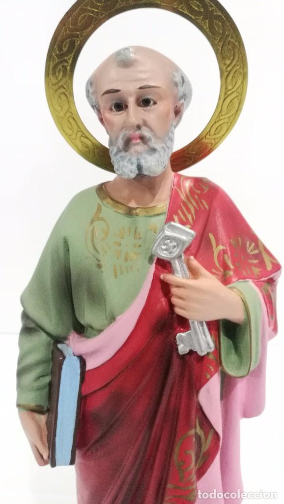 Arte: Escultura San Pedro 40 cm - Foto 5 - 104978547