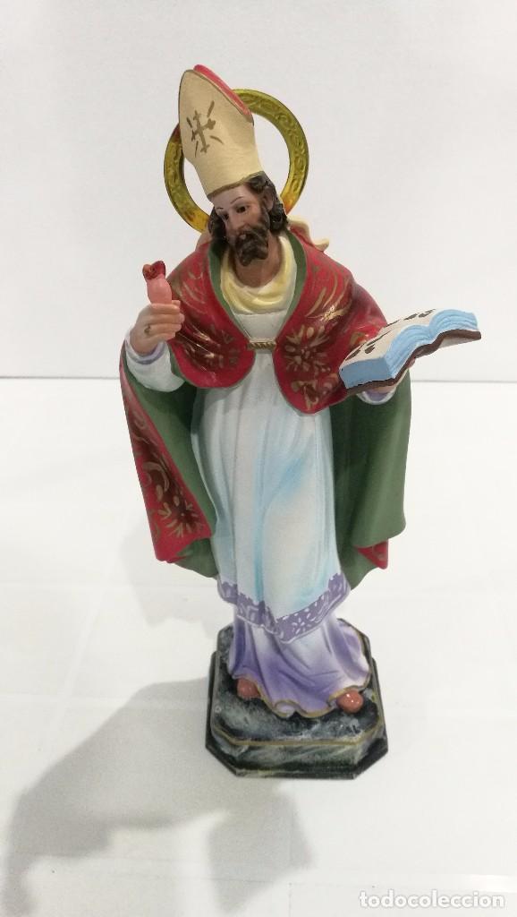ESCULTURA SAN AGUSTÍN 30 CM (Arte - Arte Religioso - Escultura)