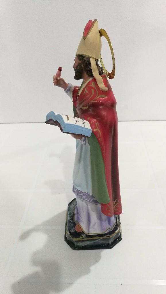 Arte: Escultura San Agustín 30 cm - Foto 5 - 104978967