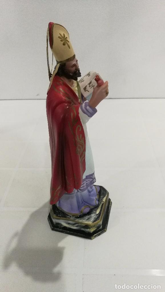 Arte: Escultura San Agustín 20 cm - Foto 3 - 104979107