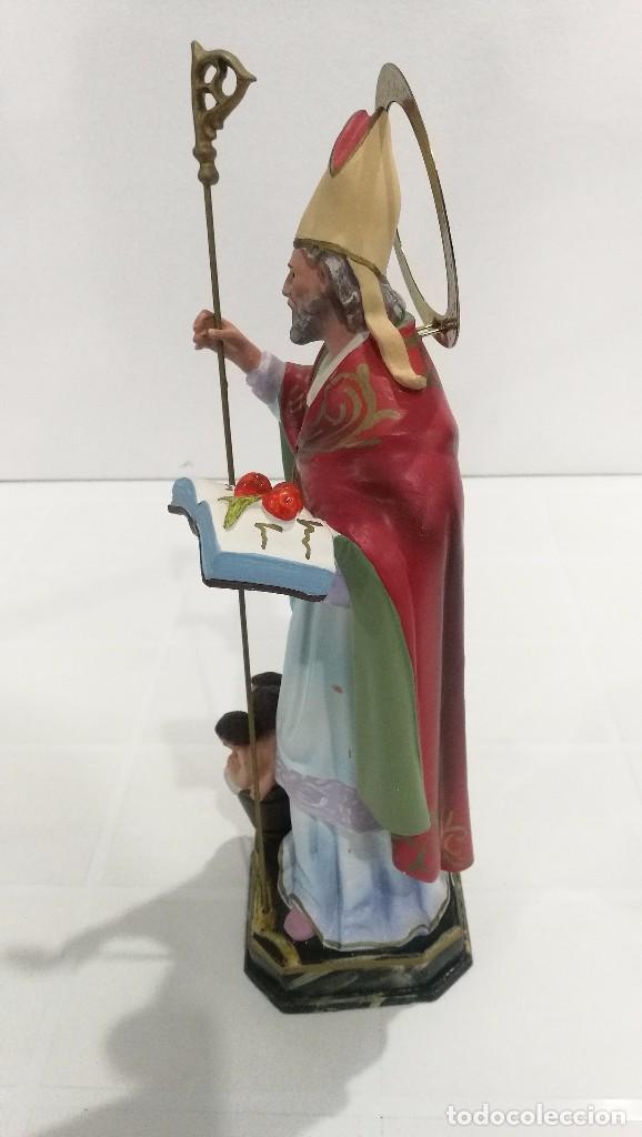 Arte: Escultura San Nicolás 30 cm - Foto 2 - 104979535