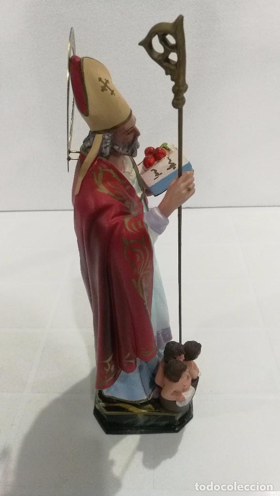 Arte: Escultura San Nicolás 30 cm - Foto 3 - 104979535