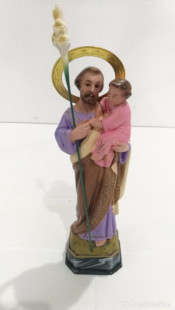ESCULTURA SAN JOSÉ 20 CM (Arte - Arte Religioso - Escultura)