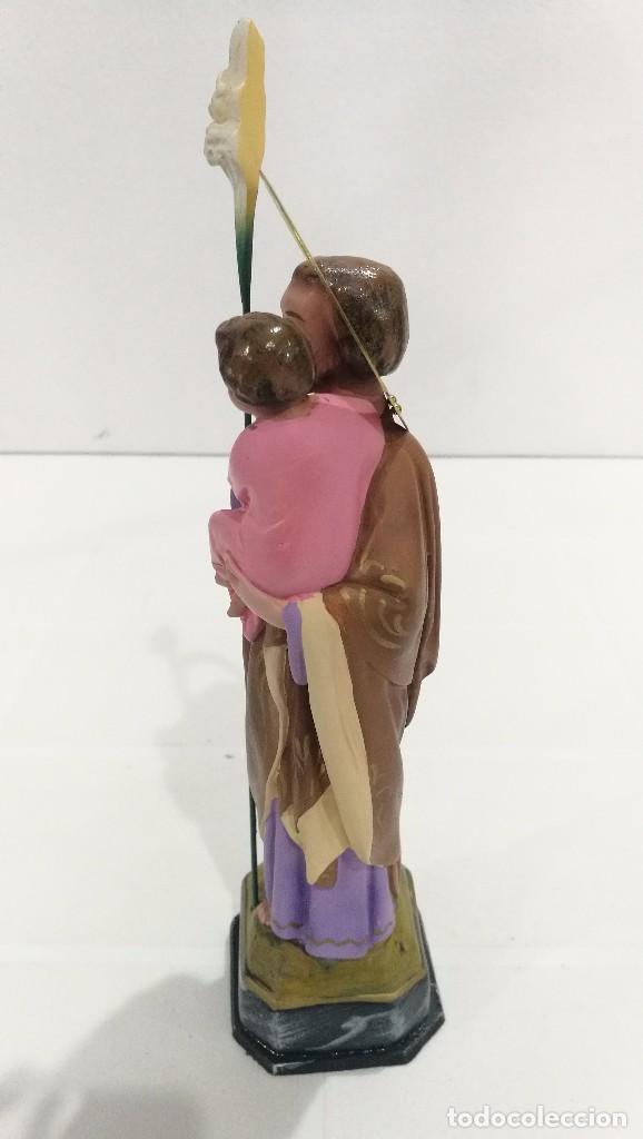 Arte: Escultura San José 20 cm - Foto 2 - 104979991