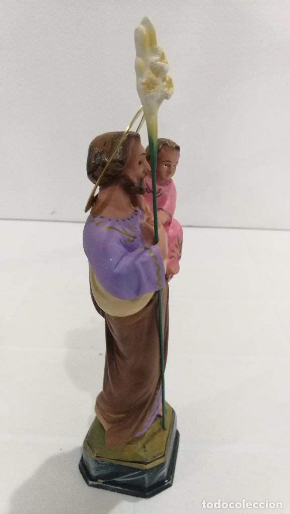 Arte: Escultura San José 20 cm - Foto 3 - 104979991
