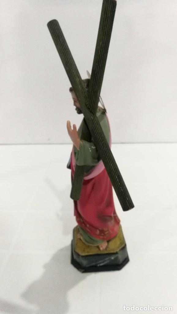 Arte: Escultura San Andrés 20 cm - Foto 2 - 104980391