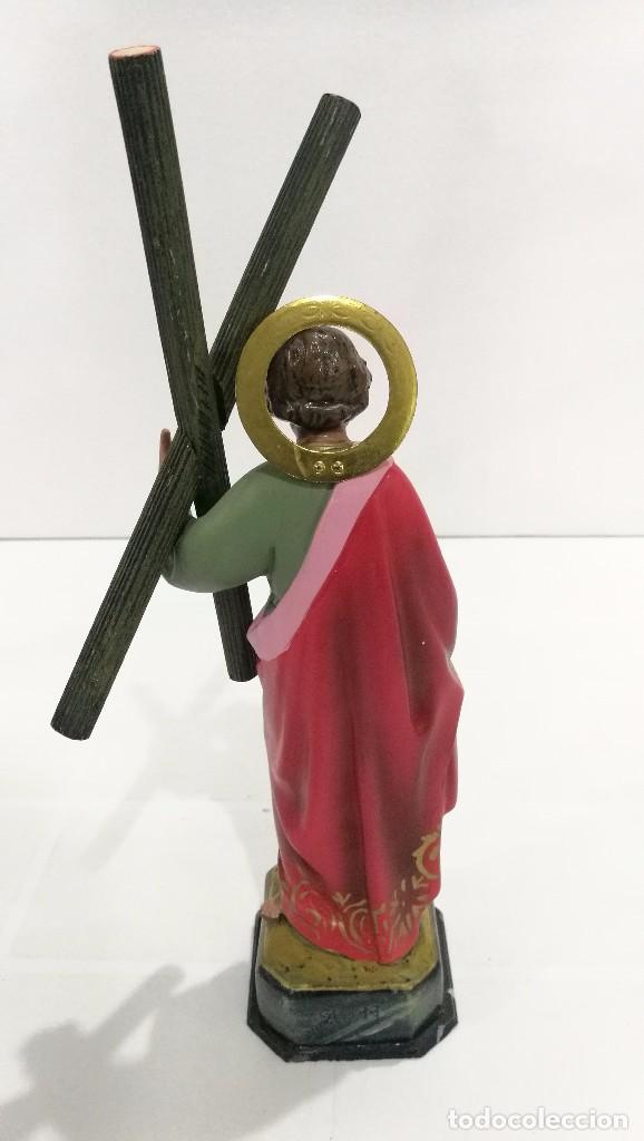 Arte: Escultura San Andrés 20 cm - Foto 4 - 104980391