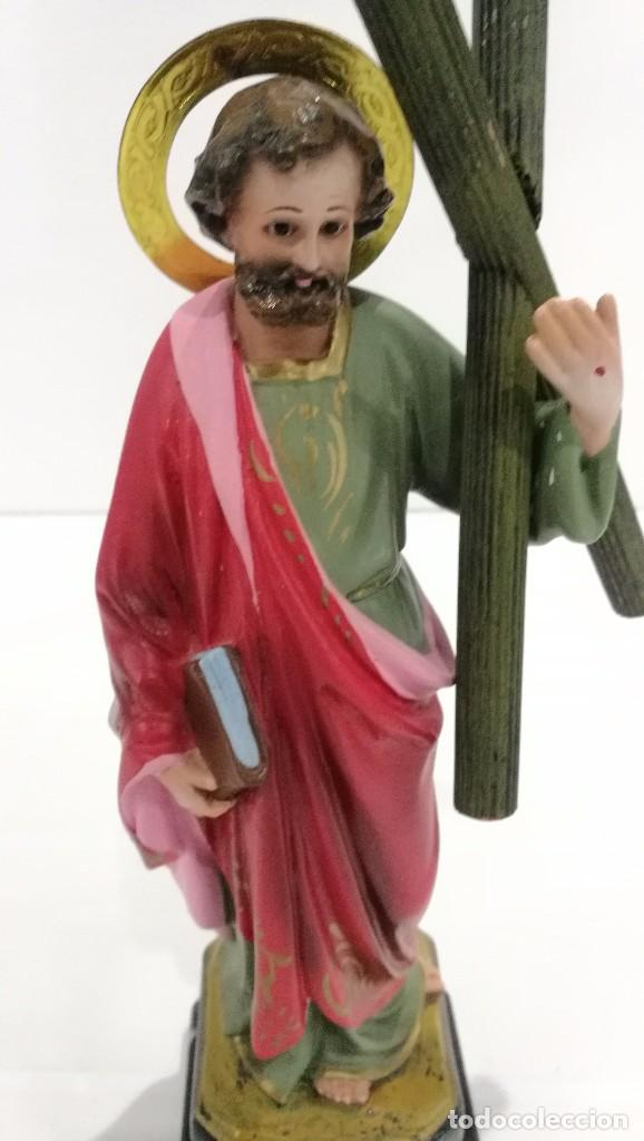 Arte: Escultura San Andrés 20 cm - Foto 5 - 104980391