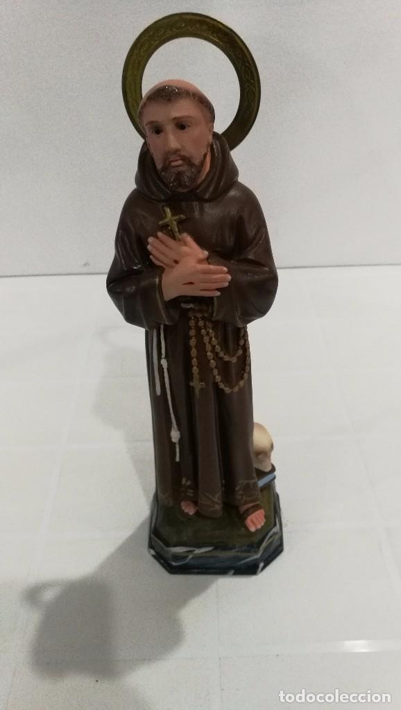 ESCULTURA SAN FRANCISCO DE ASÍS 30 CM (Arte - Arte Religioso - Escultura)
