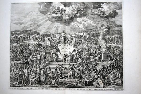 Arte: 1729 - IMAGENES DEL ANTIGUO Y NUEVO TESTAMENTO - BIBLIA - LUYKEN - ENGRAVING - GRAVURE - Foto 2 - 60370515