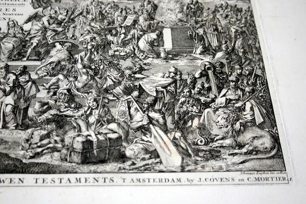 Arte: 1729 - IMAGENES DEL ANTIGUO Y NUEVO TESTAMENTO - BIBLIA - LUYKEN - ENGRAVING - GRAVURE - Foto 4 - 60370515