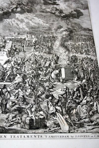 Arte: 1729 - IMAGENES DEL ANTIGUO Y NUEVO TESTAMENTO - BIBLIA - LUYKEN - ENGRAVING - GRAVURE - Foto 5 - 60370515