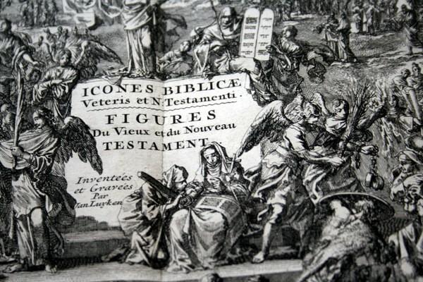 Arte: 1729 - IMAGENES DEL ANTIGUO Y NUEVO TESTAMENTO - BIBLIA - LUYKEN - ENGRAVING - GRAVURE - Foto 6 - 60370515