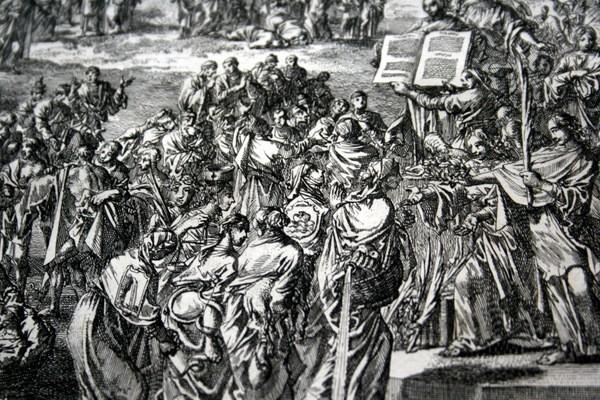 Arte: 1729 - IMAGENES DEL ANTIGUO Y NUEVO TESTAMENTO - BIBLIA - LUYKEN - ENGRAVING - GRAVURE - Foto 7 - 60370515