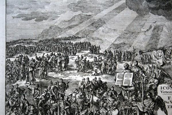 Arte: 1729 - IMAGENES DEL ANTIGUO Y NUEVO TESTAMENTO - BIBLIA - LUYKEN - ENGRAVING - GRAVURE - Foto 11 - 60370515