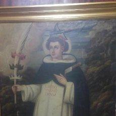 Arte: ESPECTACULAR MARTIRIO SAN PEDRO DE VERONA. SIGLO XVIII. Lote 105814319