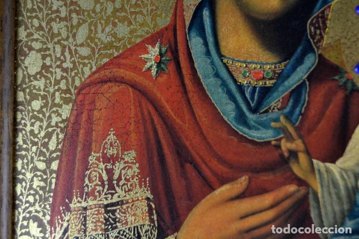 Arte: ENVIO 24h / Icono Virgen Maria / Papa Giovanni XXIII / Juan XXIII / Certificado autenticidad - Foto 5 - 105837799