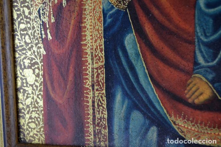 Arte: ENVIO 24h / Icono Virgen Maria / Papa Giovanni XXIII / Juan XXIII / Certificado autenticidad - Foto 6 - 105837799