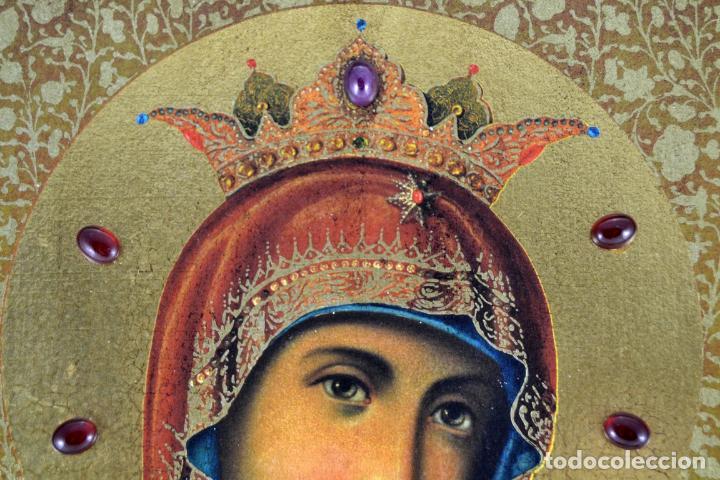 Arte: ENVIO 24h / Icono Virgen Maria / Papa Giovanni XXIII / Juan XXIII / Certificado autenticidad - Foto 9 - 105837799