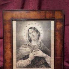 Arte: MATER MISERICORDIAE. ANTIGUA LITOGRAFÍA FRANCESA DEL SIGLO XIX.. Lote 105934790