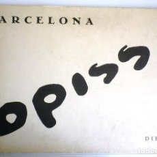 Arte: DIBUIXOS OPISSO BARCELONA. Lote 106534543