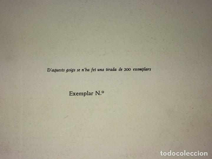 Arte: LOTE DE 6 GOIGS. CON LITOGRAFÍAS. SANTOS DIVERSOS. MONTANER Y SIMON. ESPAÑA. SIGLO XX - Foto 5 - 106698891