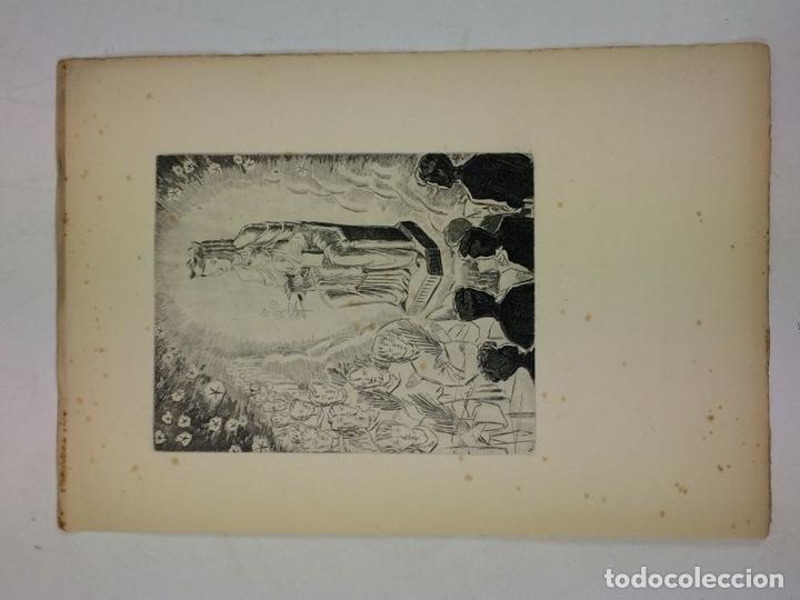Arte: LOTE DE 6 GOIGS. CON LITOGRAFÍAS. SANTOS DIVERSOS. MONTANER Y SIMON. ESPAÑA. SIGLO XX - Foto 13 - 106698891
