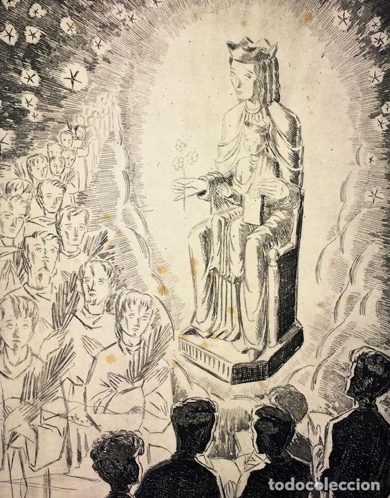 Arte: LOTE DE 6 GOIGS. CON LITOGRAFÍAS. SANTOS DIVERSOS. MONTANER Y SIMON. ESPAÑA. SIGLO XX - Foto 15 - 106698891
