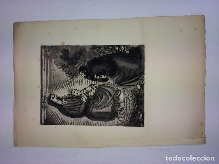 Arte: LOTE DE 6 GOIGS. CON LITOGRAFÍAS. SANTOS DIVERSOS. MONTANER Y SIMON. ESPAÑA. SIGLO XX - Foto 19 - 106698891