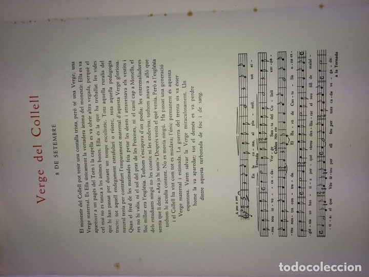 Arte: LOTE DE 6 GOIGS. CON LITOGRAFÍAS. SANTOS DIVERSOS. MONTANER Y SIMON. ESPAÑA. SIGLO XX - Foto 26 - 106698891