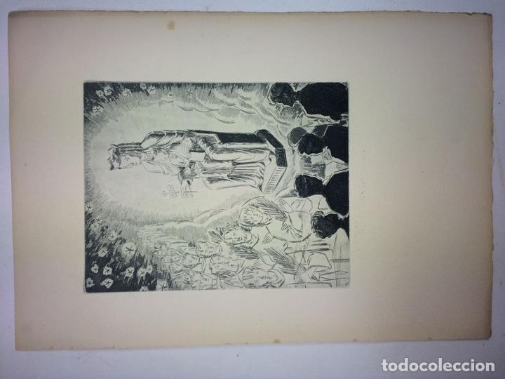 Arte: LOTE DE 6 GOIGS. CON LITOGRAFÍAS. SANTOS DIVERSOS. MONTANER Y SIMON. ESPAÑA. SIGLO XX - Foto 27 - 106698891