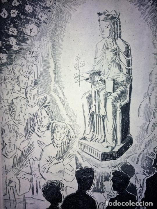 Arte: LOTE DE 6 GOIGS. CON LITOGRAFÍAS. SANTOS DIVERSOS. MONTANER Y SIMON. ESPAÑA. SIGLO XX - Foto 28 - 106698891