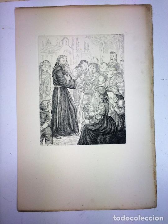 Arte: LOTE DE 6 GOIGS. CON LITOGRAFÍAS. SANTOS DIVERSOS. MONTANER Y SIMON. ESPAÑA. SIGLO XX - Foto 32 - 106698891