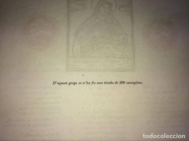 Arte: LOTE DE 6 GOIGS. CON LITOGRAFÍAS. SANTOS DIVERSOS. MONTANER Y SIMON. ESPAÑA. SIGLO XX - Foto 38 - 106698891
