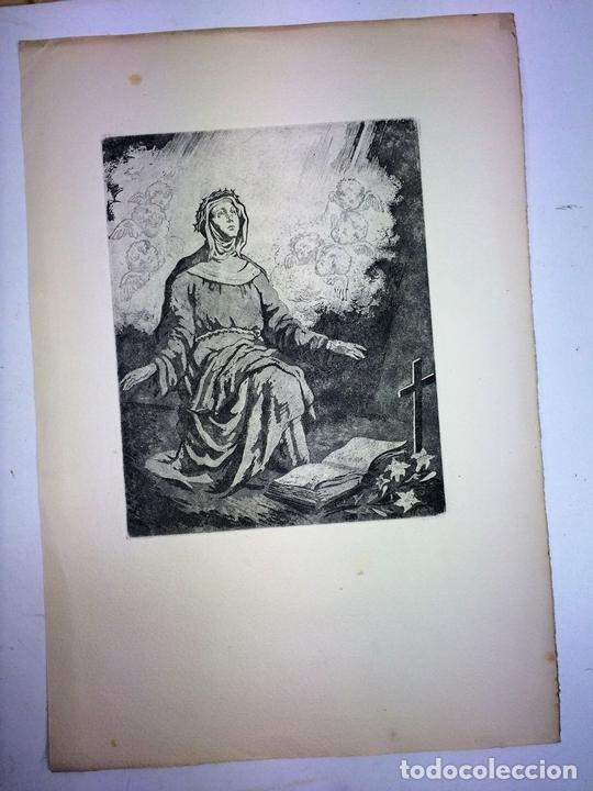 Arte: LOTE DE 6 GOIGS. CON LITOGRAFÍAS. SANTOS DIVERSOS. MONTANER Y SIMON. ESPAÑA. SIGLO XX - Foto 40 - 106698891