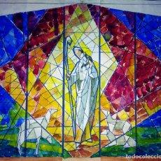 Arte: ESTUDIO PARA VITRAL. PINTURA. ACUARELA Y TINTA. ATRIB. GORGUES. ESPAÑA. CIRCA 1950. Lote 107210571