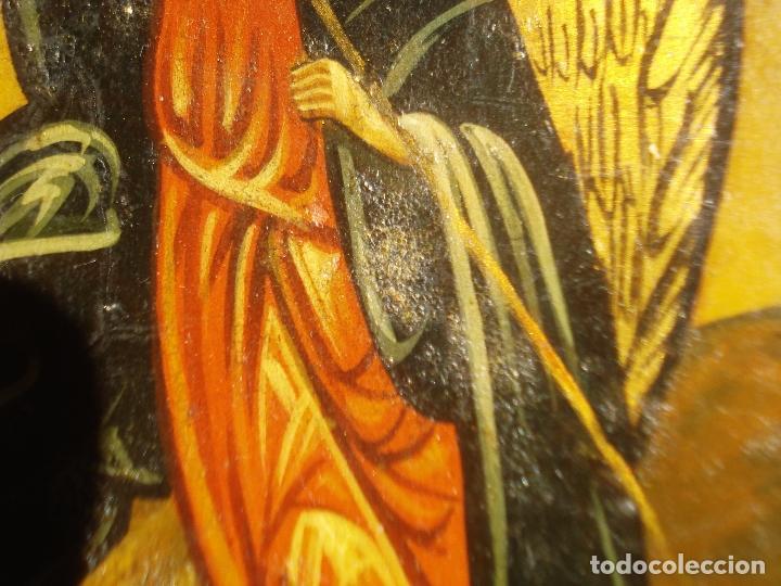 Arte: SAN MIGUEL ARCÁNGEL SOBRE TABLA S XIX - Foto 6 - 107314475