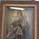 Arte: ANTIGUO CUADRO RELIGIOSO TRIDIMENSIONAL.3 FOTOS.. Lote 107419091