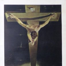 Arte: SALVADOR DALI - CHRIST OF ST. JOHN OF THE CROSS (CRISTO DE SAN JUAN EN LA CRUZ) - AÑOS 1970. Lote 107477923