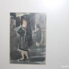 Arte: ACUARELA, MANOLAS SEMANA SANTA MURCIA , ANTONIO BALIBREA. Lote 108511812