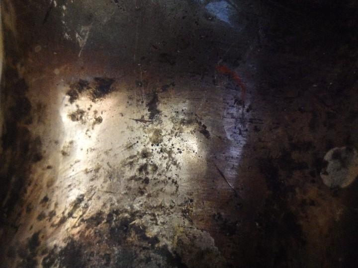 Arte: Angelito en madera tallada y plateada perteneciente al siglo XVIII. 20 cm de altura. - Foto 14 - 107536531