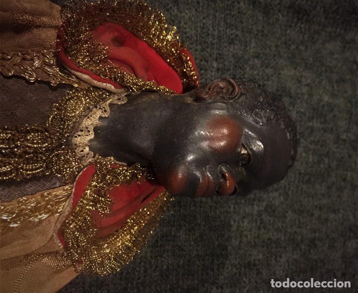 Arte: IMPRESIONANTE CONJUNTO DE REYES MAGOS DE BELEN O PRESEPE NAPOLITANO - Foto 24 - 107569595