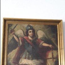 Arte: OLEO SAN MIGUEL ARCANGELSIGLO XVII/XVIII. Lote 107655331