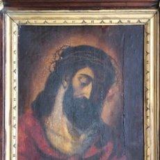 Arte - ÓLEO SOBRE TABLA ECCE HOMO SIGLO XVIII - 140509653